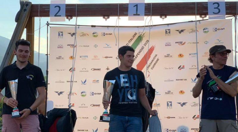 Valerio Marchetti e il suo 1° Campionato Italiano di Parapendio